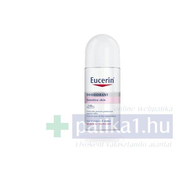 Eucerin Golyós dezodor érzékeny bőrre 24 órás 50 ml