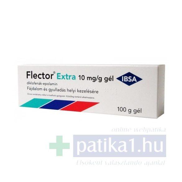 Flector Extra 10 mg/g gél 100 g