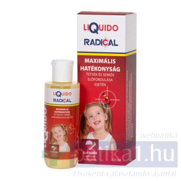 Liquido Radical fejtetű serkeírtó sampon 125 ml