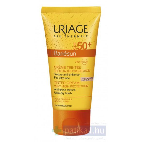Uriage BARIÉSUN Színezett arckrém (világos) SPF50+ 50 ml