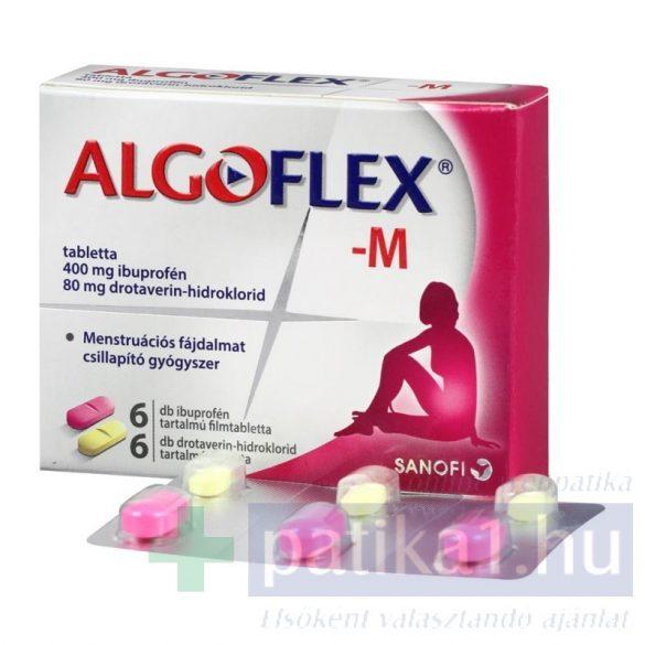 Algoflex M tabletta 6 db+6 db
