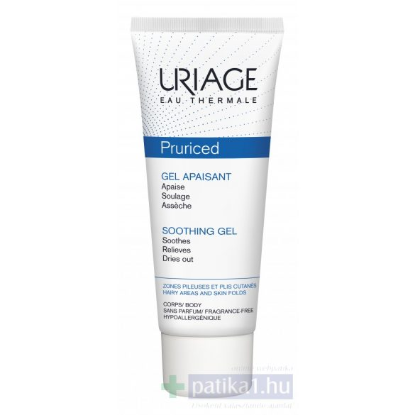 Uriage PRURICED Gél viszkető bőrre 100 ml