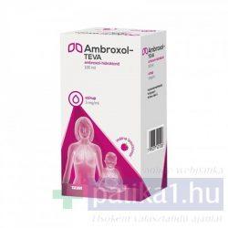 Ambroxol-TEVA 3 mg/ml szirup 100 ml - közeli lejárat 2021.08.31.