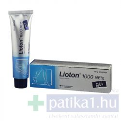 Lioton 1000 NE/g gél 100 g