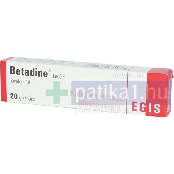 Betadine kenőcs 20 g
