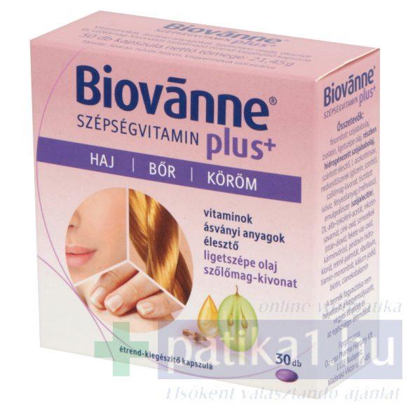 Biovanne Plus szépségvitamin kapszula 30 db