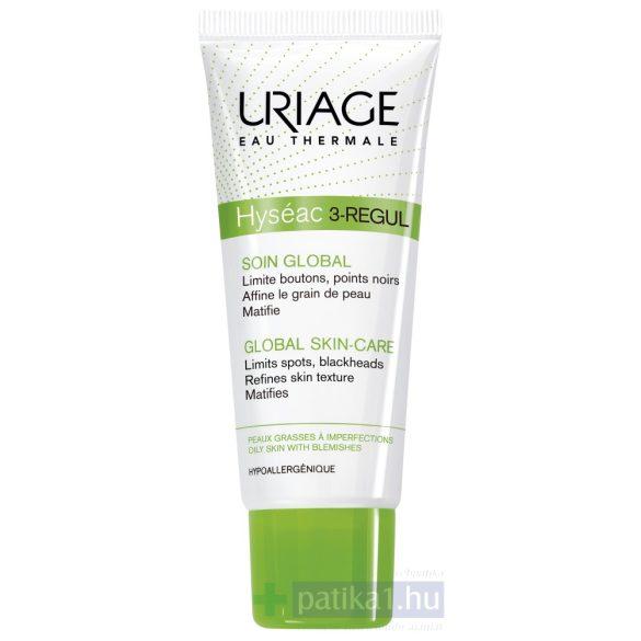 Uriage HYSÉAC 3-REGUL KRÉM - Mitesszeres és pattanásos (aknés) bőrre40 ml