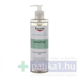 Eucerin DermoPure Mélytisztító arclemosó zselé 400 ml