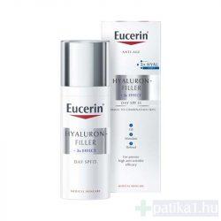 Eucerin Hyaluron-Filler Ráncfeltöltő nappali arckrém normál, vegyes bőrre 50 ml
