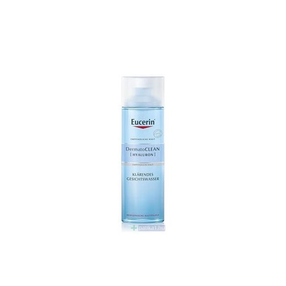 Eucerin DermatoCLEAN [HIALURON] arctisztító tej 200 ml