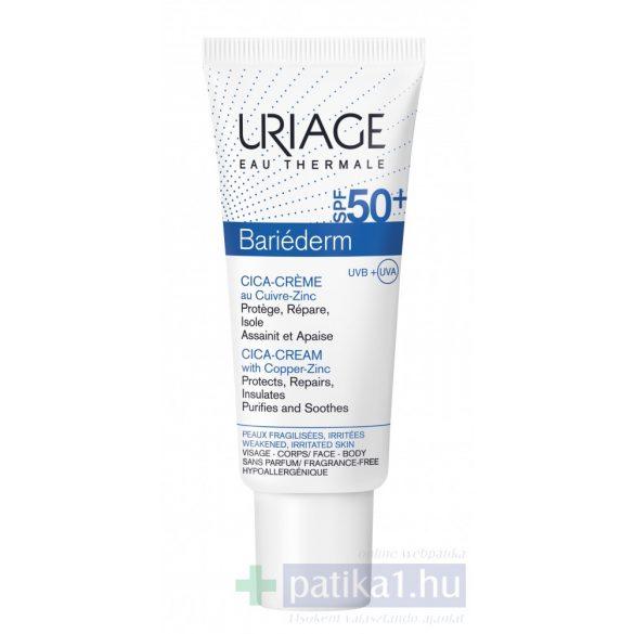 Uriage BARIÉDERM CICA CU-ZN Krém SPF50+ 40 ml