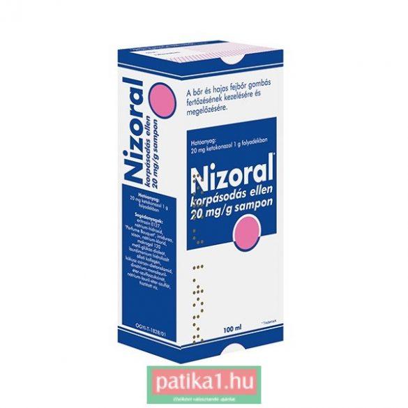 Nizoral korpásodás elleni sampon 20 mg/g 100 ml