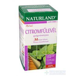 Citromfűlevél filteres Naturland 25x 1 g