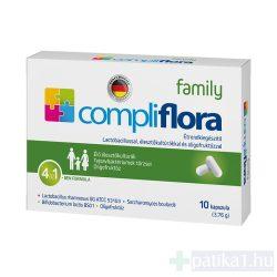 Compliflora Family étrendkiegészítő kapszula 10x
