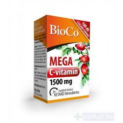 Bioco Mega C-vitamin 1500 mg retard filmtabletta 100 db