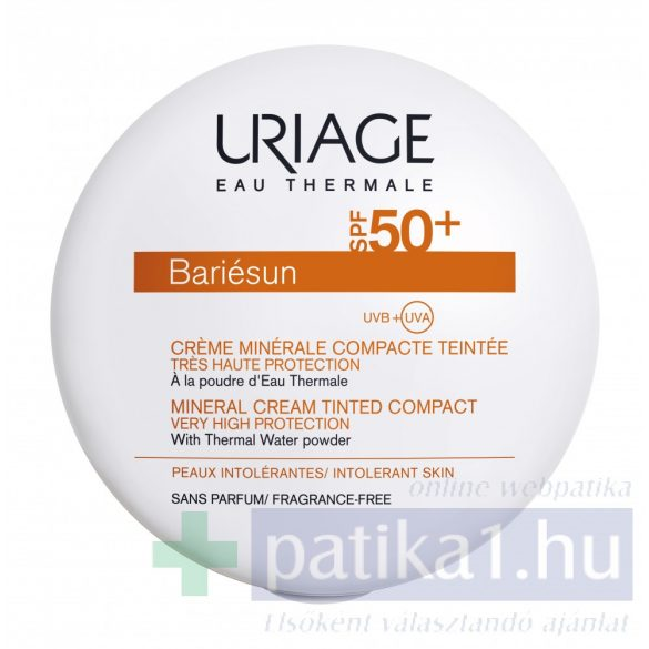 Uriage BARIÉSUN púder SPF50+ - SÖTÉT árnyalat (Gold)
