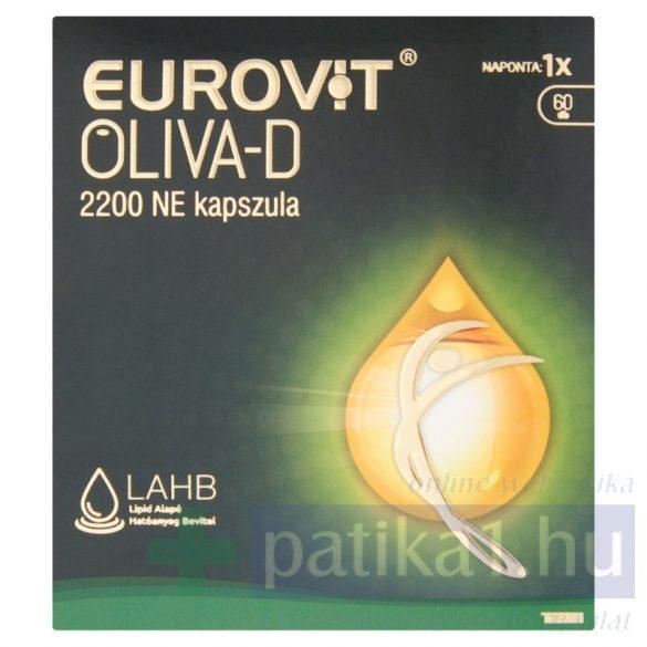 Eurovit Oliva-D 2200 NE étrendkiegészítő kapszula 60 db