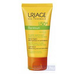 Uriage BARIÉSUN MAT arckrém zsíros bőrre SPF50+50 ml