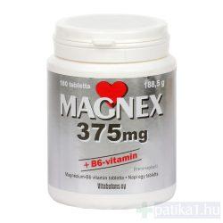 Magnex 375 mg + B6-vitamin tabletta 180 db