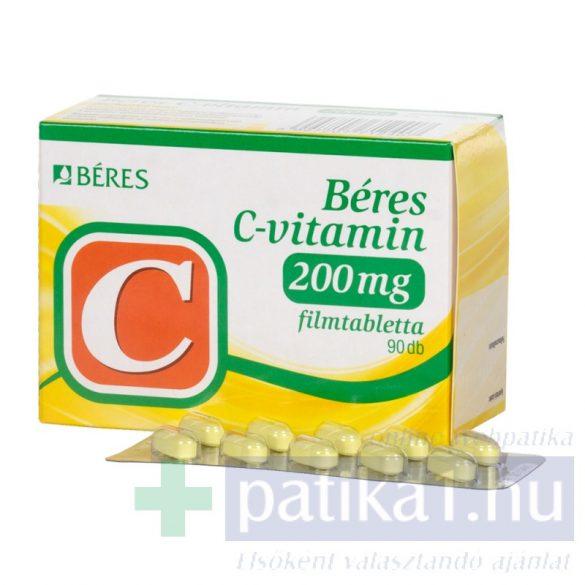 Béres C-vitamin 200 mg filmtabletta 90 db