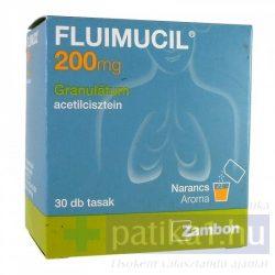 Fluimucil 200 mg granulátum 30 db