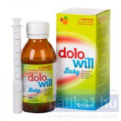 Dolowill Baby 100 mg/5 ml belsőleges szuszpenzió 100 ml
