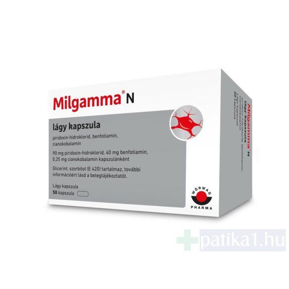 Milgamma N lágy kapszula 50x