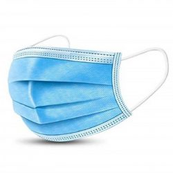 3 rétegű orvosi szájmaszk 5 db 1 csomagban
