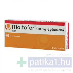 Maltofer 100 mg rágótabletta 30 db