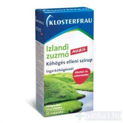 Klosterfrau Izlandi zuzmó szirup tasakban 10x10 ml