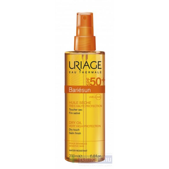 Uriage BARIÉSUN Száraz olaj spray SPF50+200 ml