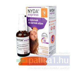 Nyda Express fejtetű és serkeírtó + fésű 50 ml