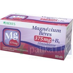 Béres Magnézium 375 mg+B6 filmtabletta 60 db