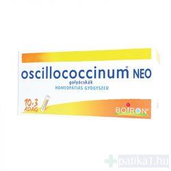 Oscillococcinum Neo golyócskák egyadagos tartályban 30 adag