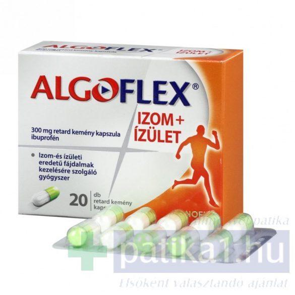 Algoflex Izom+Ízület 300 mg retard kemény kapszula 20x