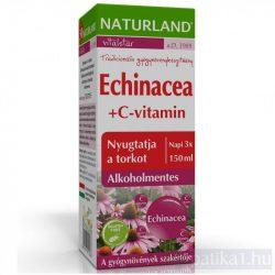 Naturland Echinacea + C-vitamin szirup 150 ml