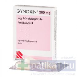 Gynoxin 200 mg lágy hüvelykapszula 3 db