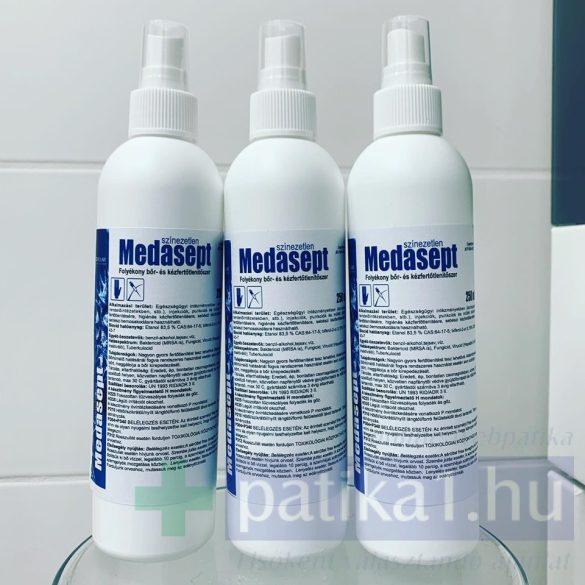 Medasept bőrfertőtlenítő spray 250 ml színezetlen