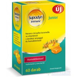Supradyn Immune Junior karamella-narancs 60x