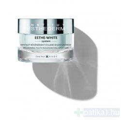 Institut Esthederm Esthe White éjszakai regeneráló krém pigmentfoltos bőrre 50 ml