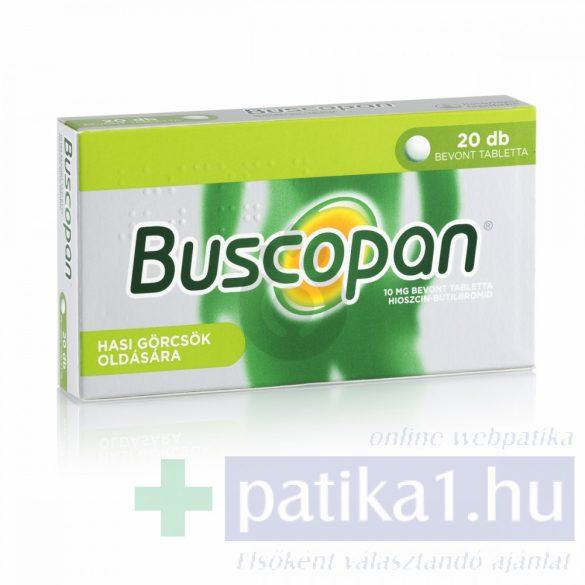 Buscopan 10 mg bevont tabletta 20 db