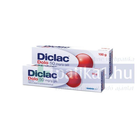 Diclac Dolo 50 mg/g gél 50 g