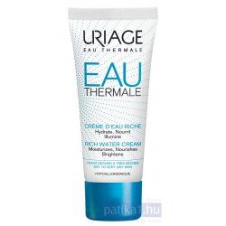 URIAGE TERMÁL Hidratáló arckrém RICHE száraz bőrre40 ml