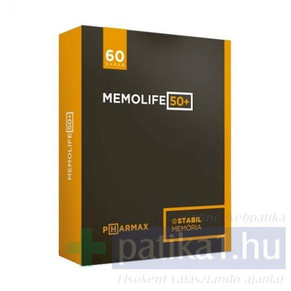 Memolife 50+ kapszula 60 db