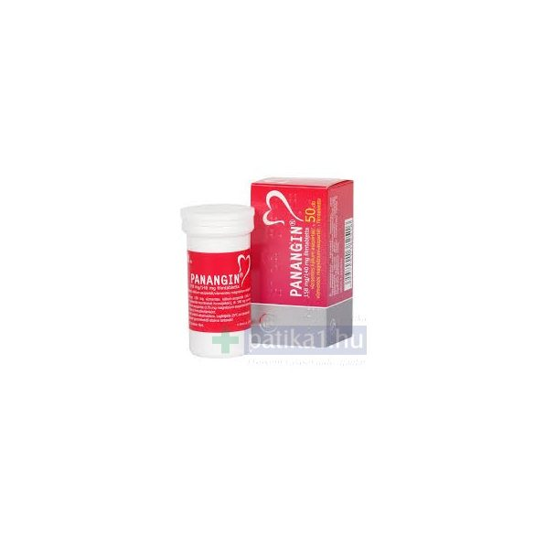 Panangin 158 mg/140 filmtabletta 50 db