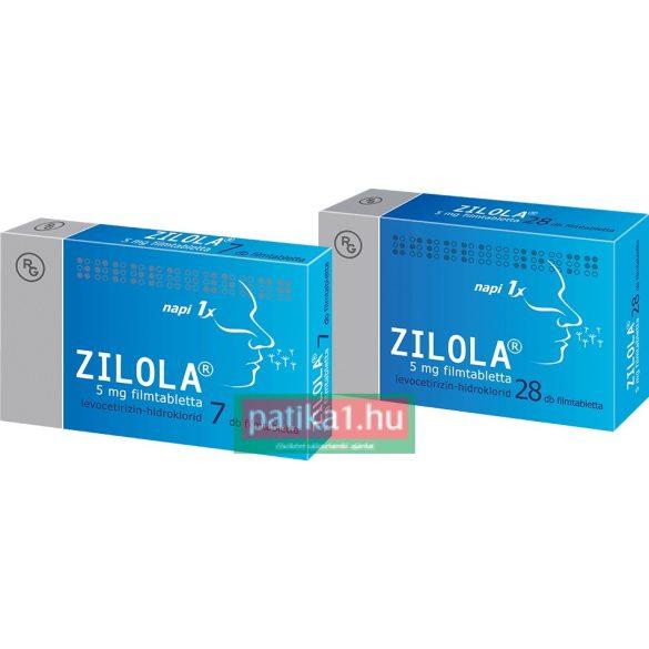 Zilola 5 mg filmtabletta 28 db