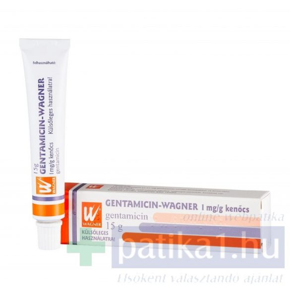 Gentamicin Wagner 1 mg/g kenőcs