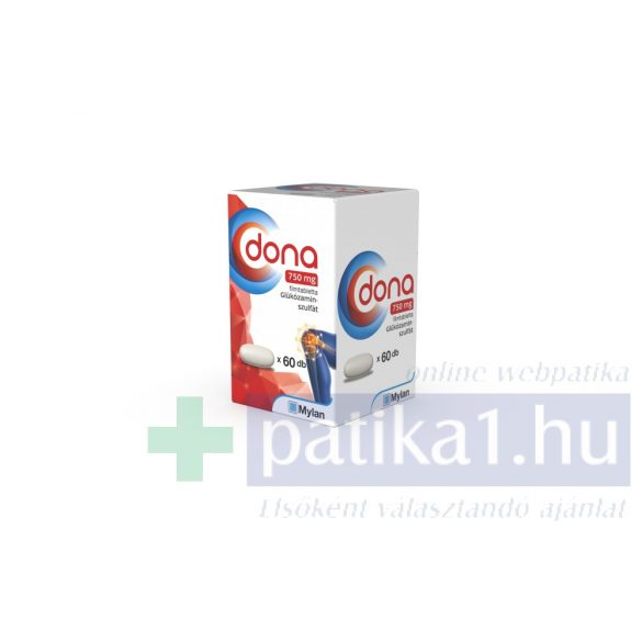 Dona 750 mg filmtabletta 60 db