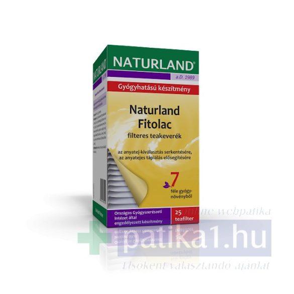 Naturland Fitolac teakeverék filteres 25x 1,5 g - közeli lejárat 2021.06.30.