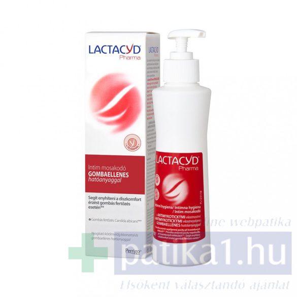 Lactacyd Pharma Intim mosakodó gombaellenes 250 ml